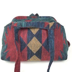 Vintage Carpet Bag Southwestern Bag Hobo Boho
